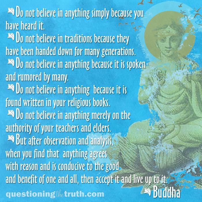 Buddha-questions